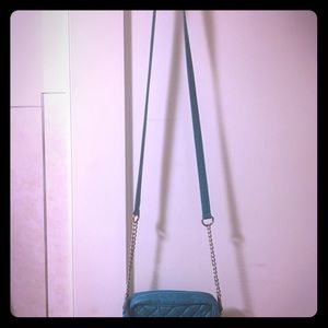 Roxy teal crossbody